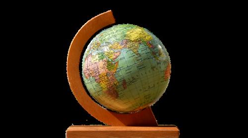 globe stand turn