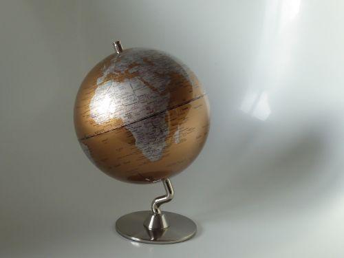 globe earth africa