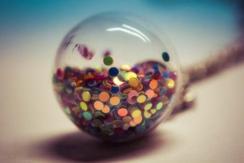 globe  color  glass