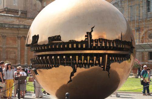 globe museum gold