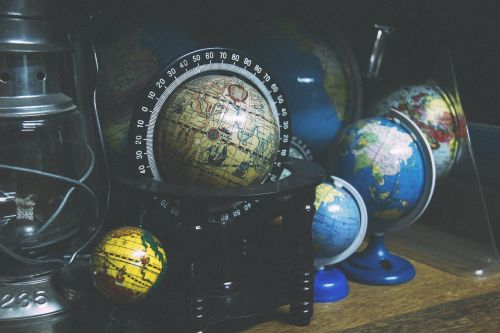 globes world geography