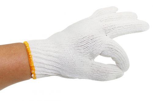 glove ok hand