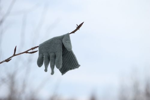 glove lost forgotten