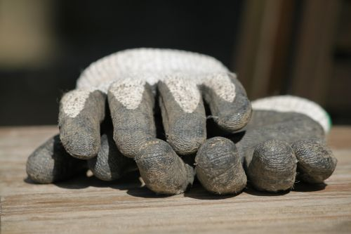 gloves glove gardening gloves