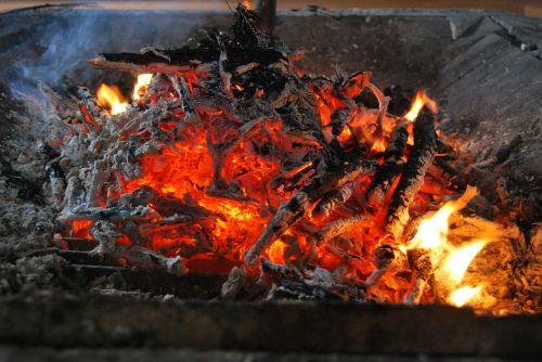 glow fire bonfire