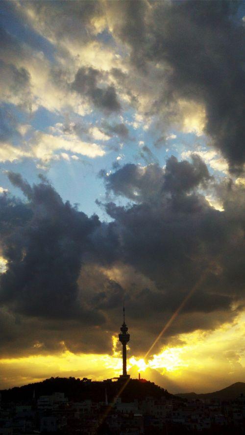 glow sky cloud