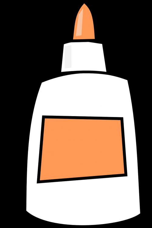 glue bottle white