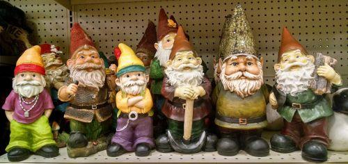 gnomes elves garden