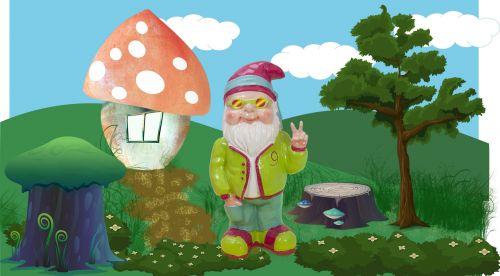 Gnome Hippie