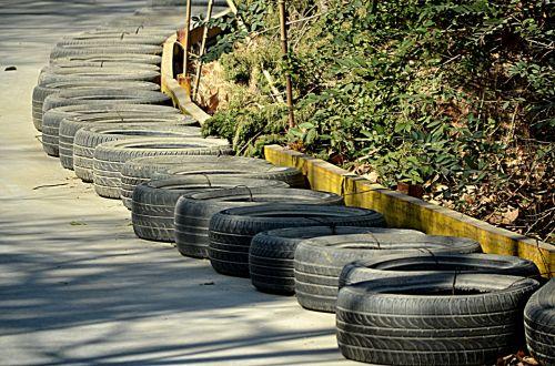 Go-cart Tire Buffer