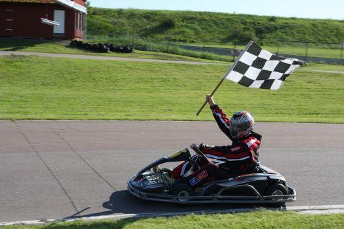 go-kart racing drive