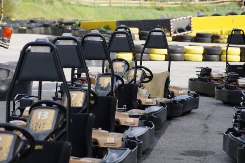 go kart kart racing race track