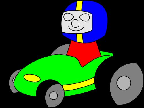 go-kart racecar kart