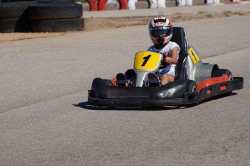 go-kart race go kart track
