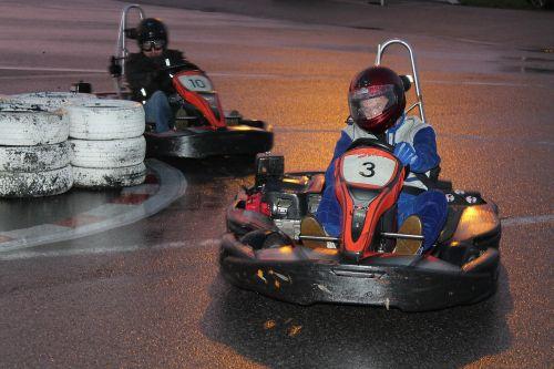 go kart karting race