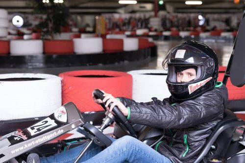 go kart track auto race