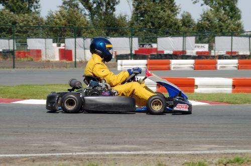 go-karting kart overall