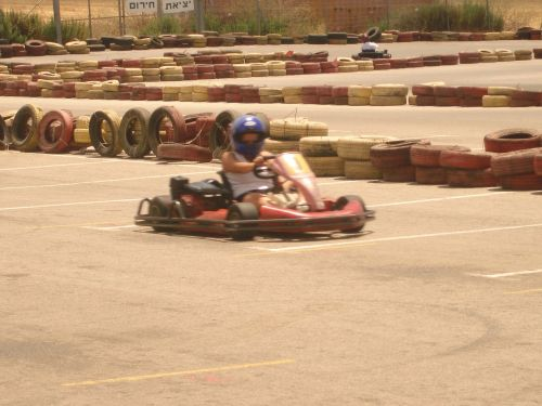 go karting race track