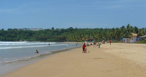 goa,bogmalo paplūdimys,Indija,papludimys,palmės,nuostabus paplūdimys,smėlio paplūdimys smėlis