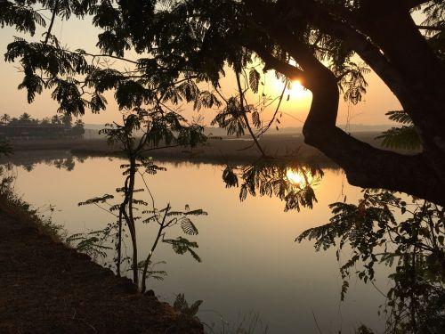 goa morning sunrise