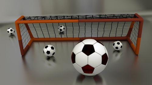 goal football goal net
