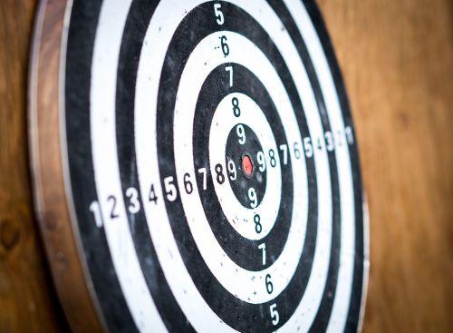 goal target dart board