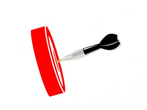 goal setting goal dart