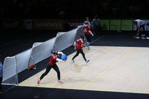 goalball paralympics blind