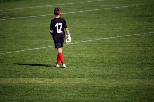 goalkeeper football boy