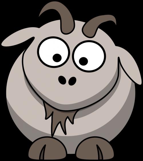 goat cartoon cute