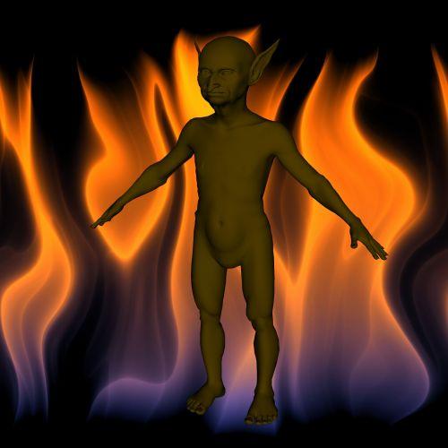 Goblin On Fire