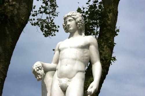god of wine baco gardens of versailles