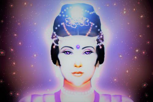 goddess mercy violet