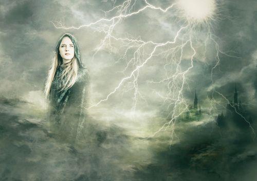 goddess composite lightening