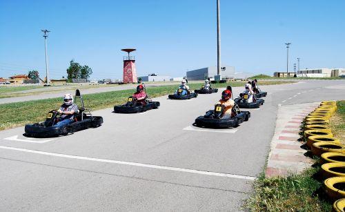 gokart karting race