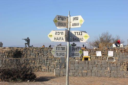 golan border conflict