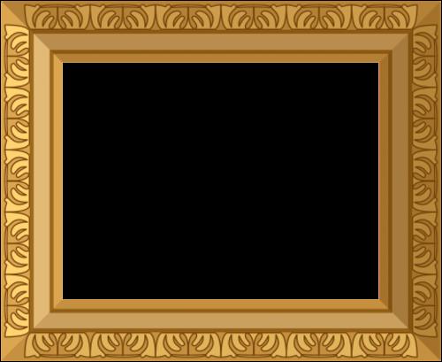 gold frame ornate