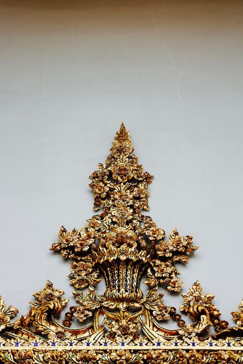 gold ornament artwork