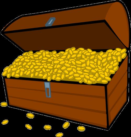 gold pirates treasure