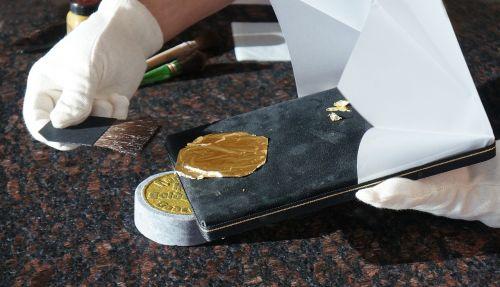 gold gold leaf gilding