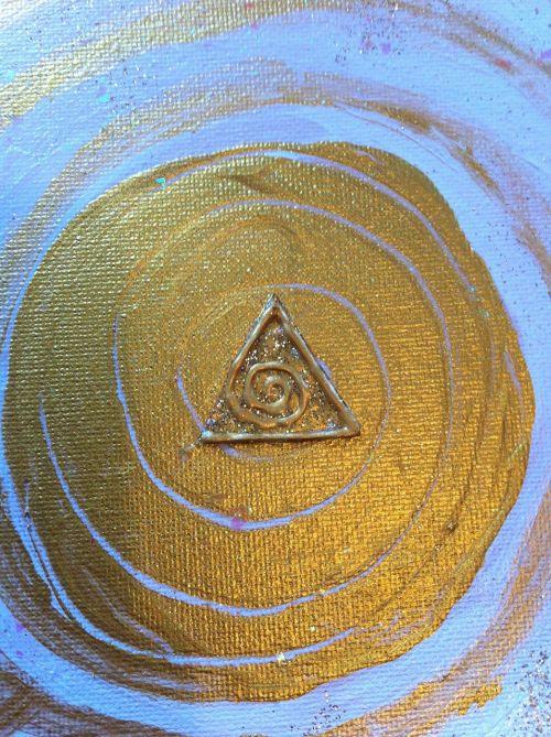 gold symbol soul light