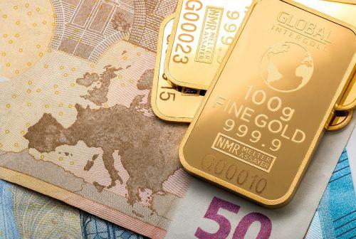 gold money gold bars