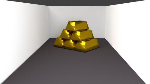 gold bars bricks