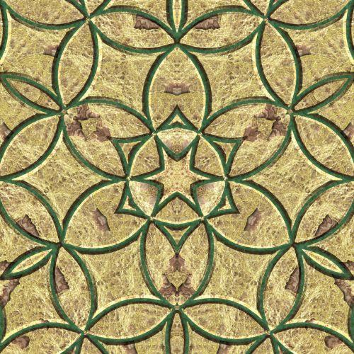 Gold Byzantine Tiles