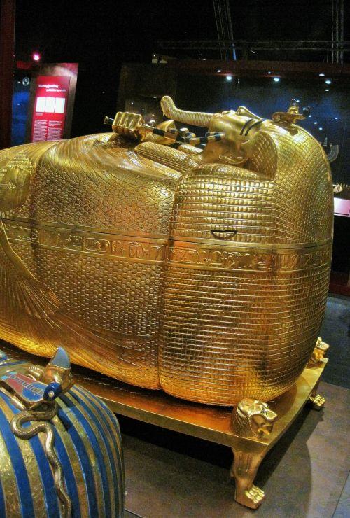 Gold Coffin Of King Tutankhamun