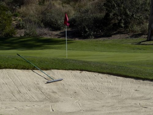 Golf Course Sand Pit