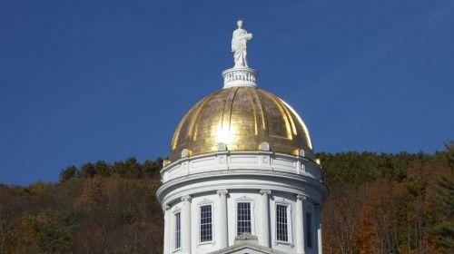 Gold Dome Montpelier Vermont