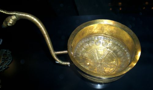 Gold Drinking Cup