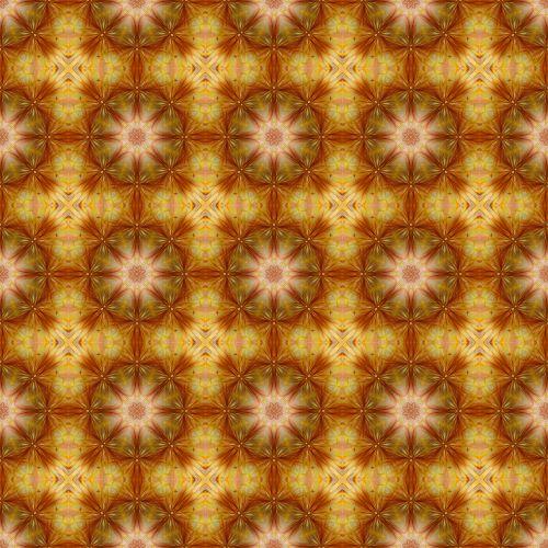 Gold Pattern Seamless Background