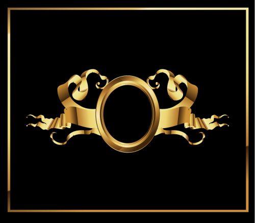 gold ribbon ribbon heraldry